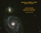 Supernova 2005cs in M51